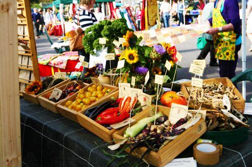 A market stall at the Taste of West Cork food festival (photo: www.atasteofwestcork.com)
