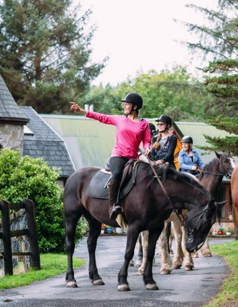 Horse riding tour for the whole family during a cruise