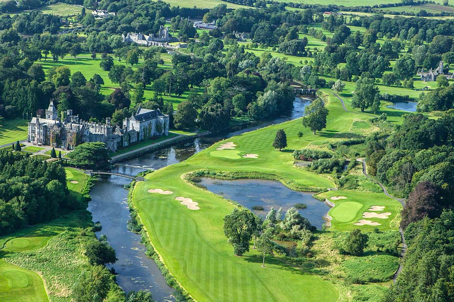 Golf cruise in Adare Manor Golf Club